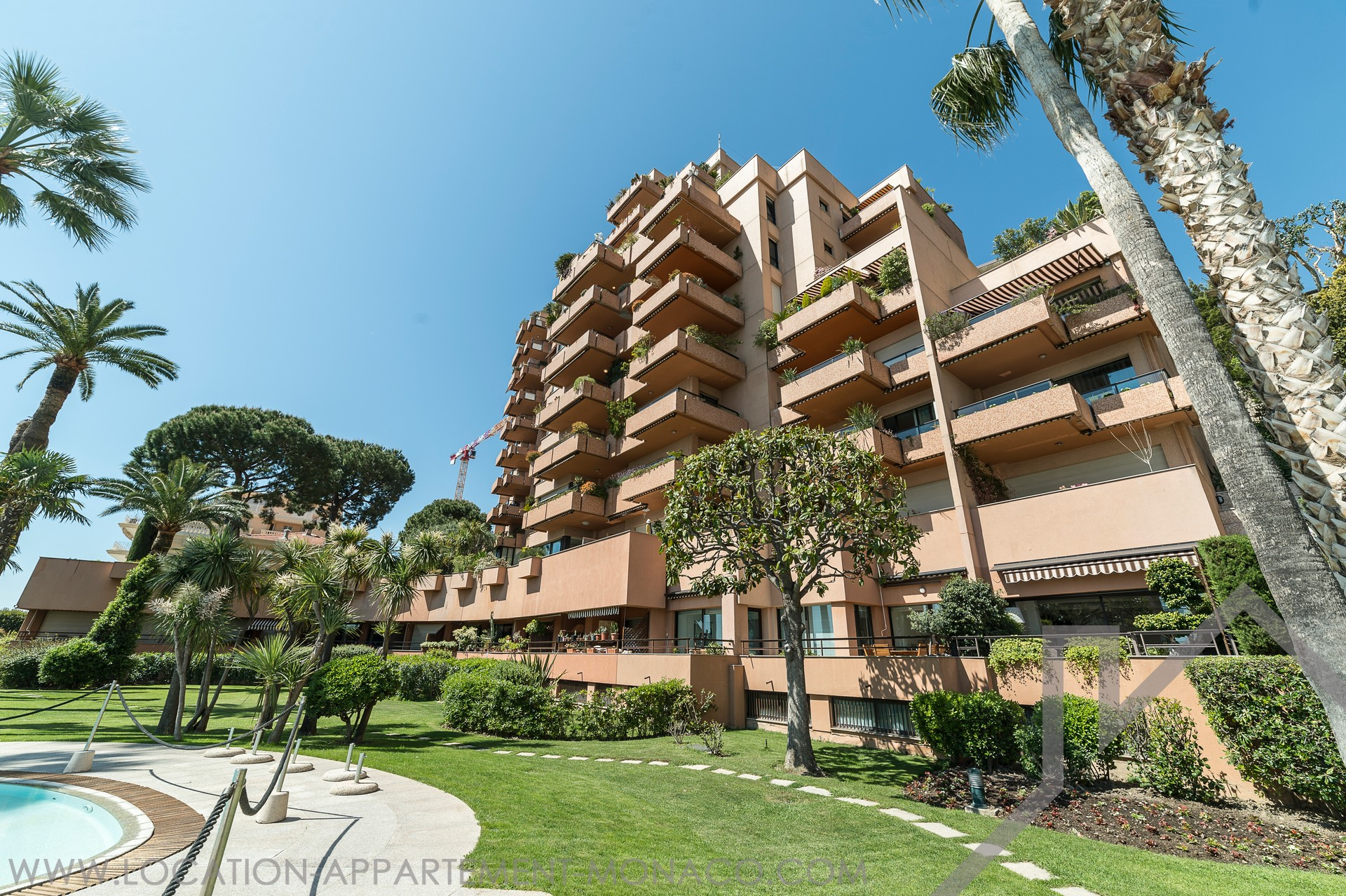 Parc Saint Roman - Furnished 3-bedroom apartment - Apartments for rent in Monaco