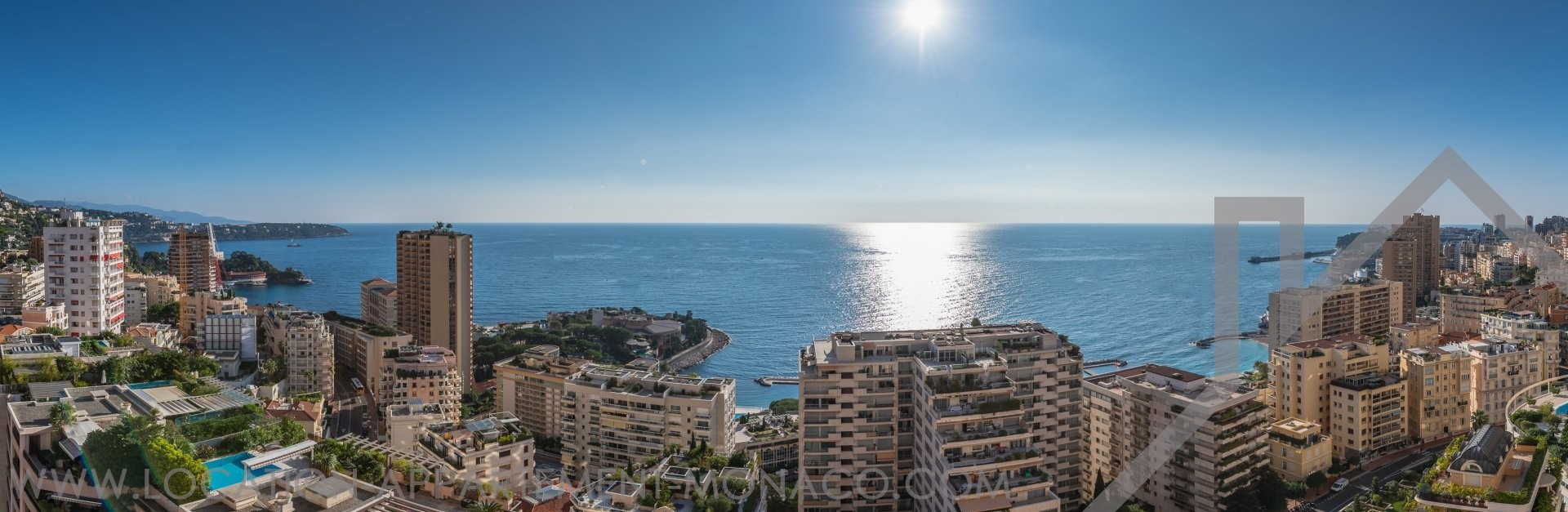 La Rousse – Château Périgord II  – 2  Bedroom renovated apartmen - Apartments for rent in Monaco