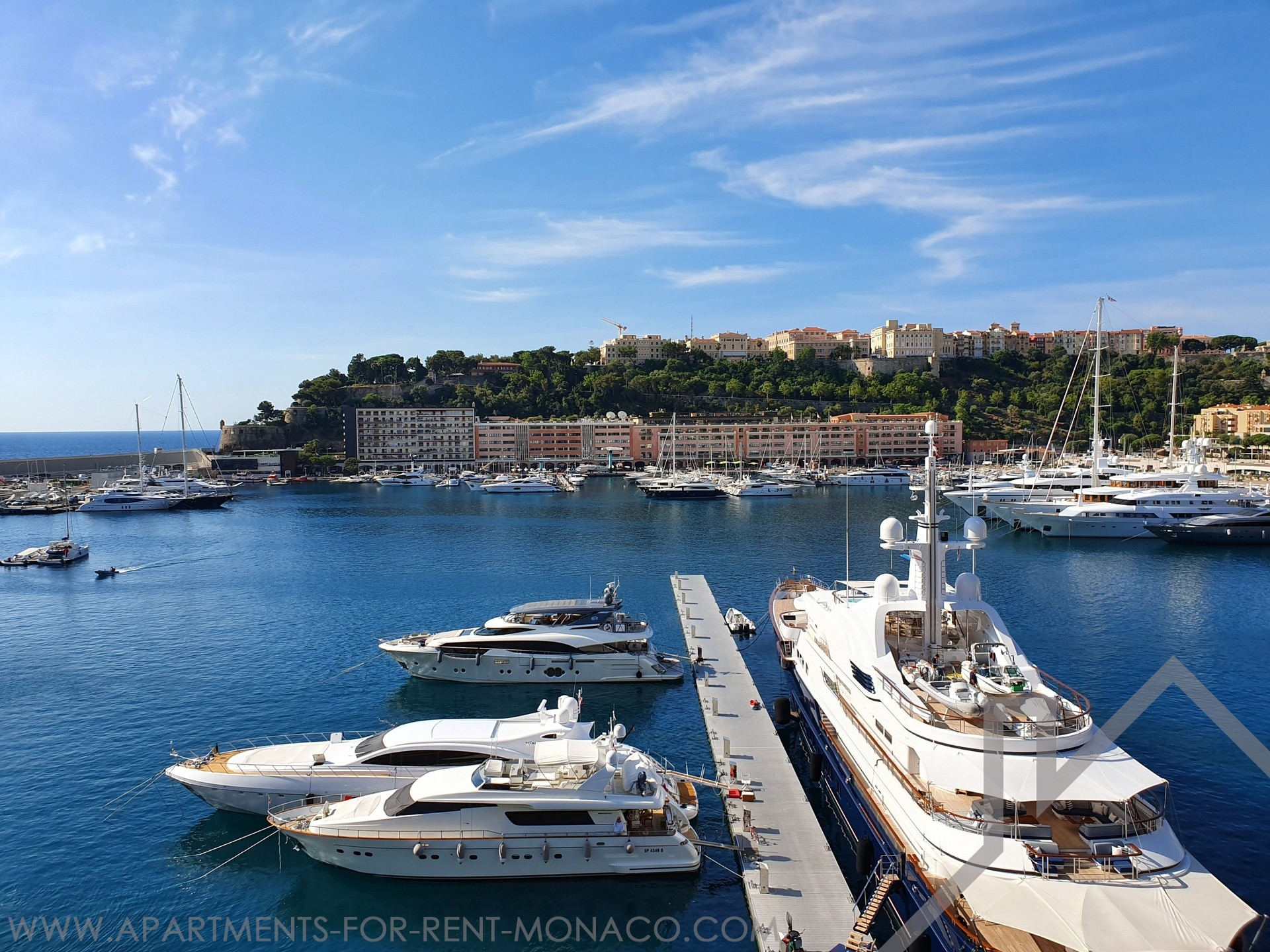The Castellara - 2 Rooms flat on a high floor - Apartments for rent in Monaco