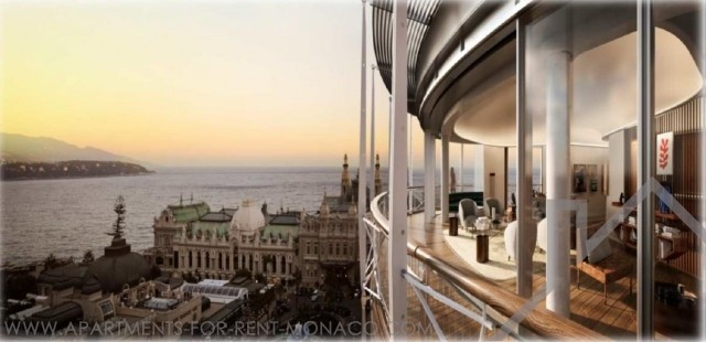 TRIPLEX 4 berooms - ONE MONTE CARLO - SEA AND CASINO PLACE VIEWS - Apartments for rent in Monaco