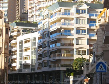 -2 rooms -: the Rocazur - Apartments for rent in Monaco
