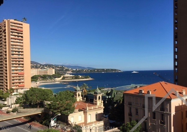 Nice furnished two bedrooms apartment with sea view - Apartments for rent in Monaco