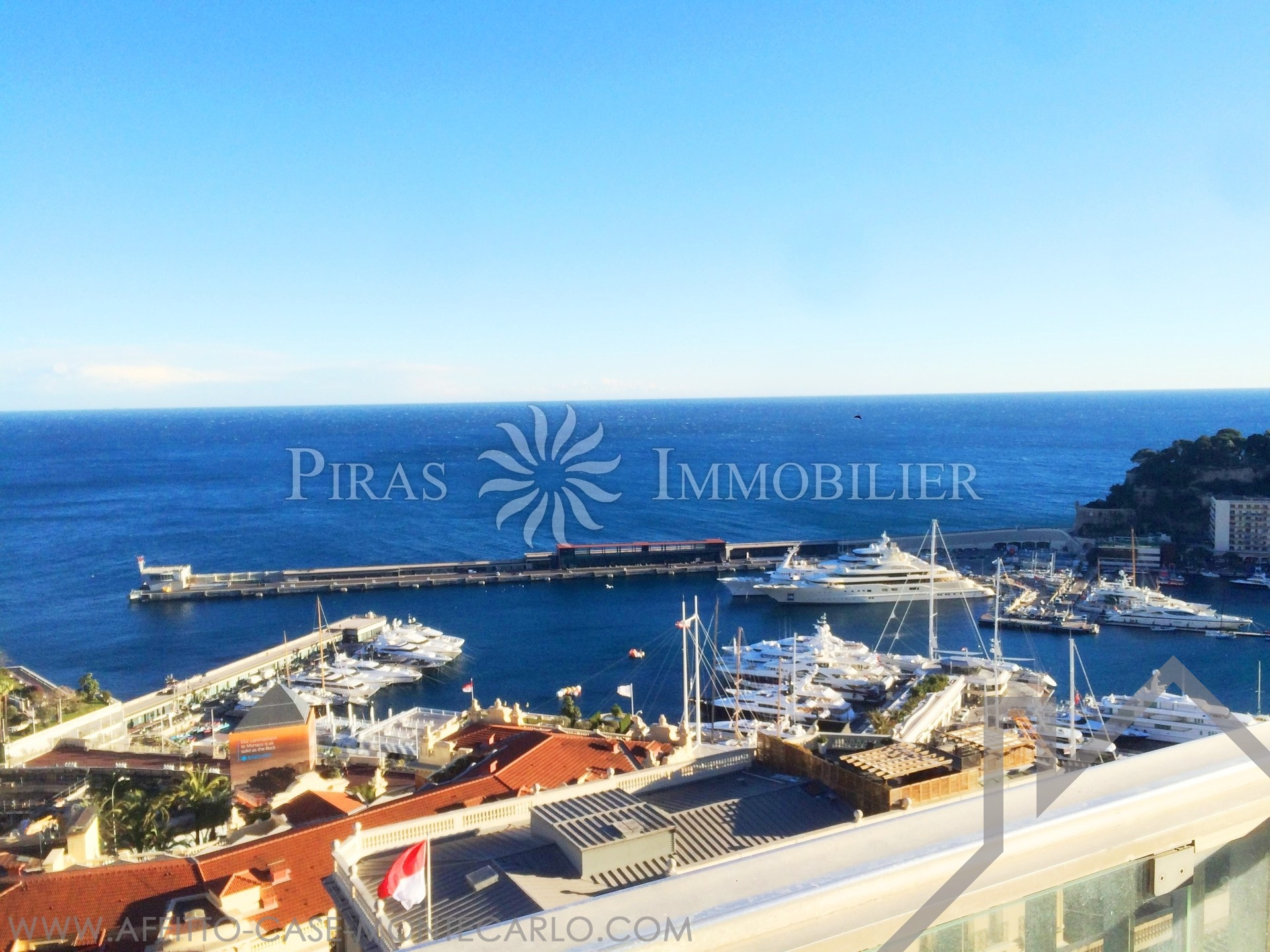 Sun Tower - Casino Square - Apartment 4 Bedrooms - Apartments for rent in Monaco
