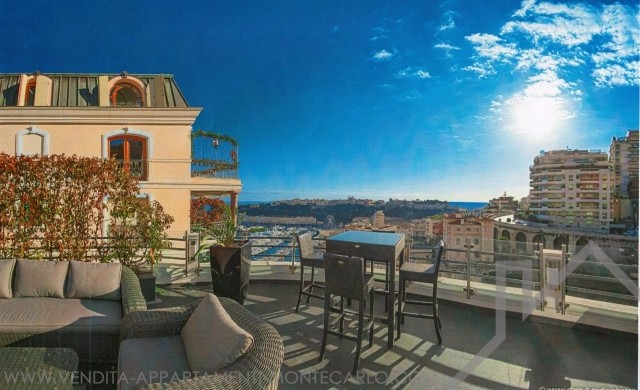 EXCLUSIVITY Rare: Boulevard de Suisse. Charming penthouse near Carré d'Or - Apartments for rent in Monaco