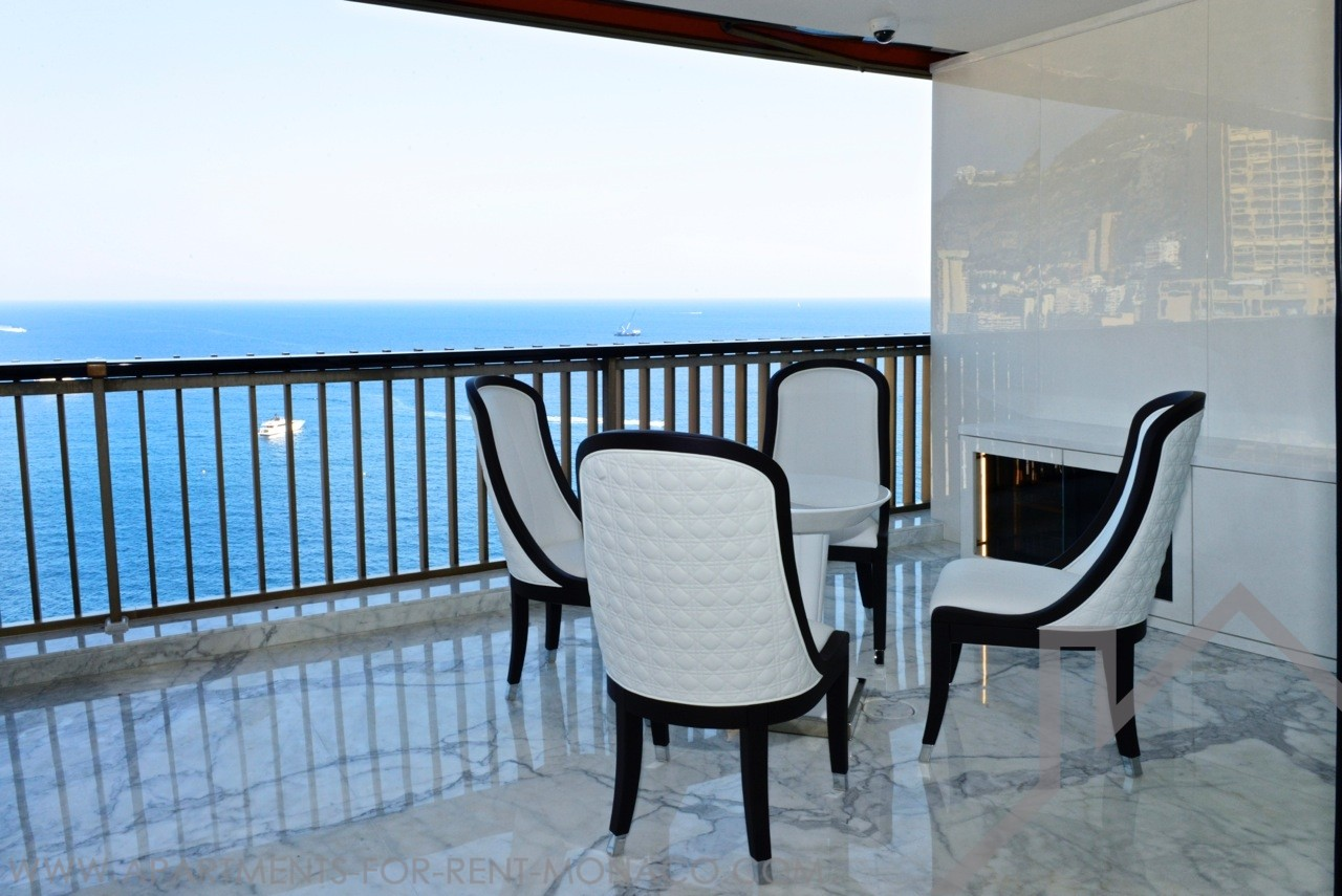 2 ROOMS RENOVATED - MIRABEAU -  HIGH FLOOR - Apartments for rent in Monaco