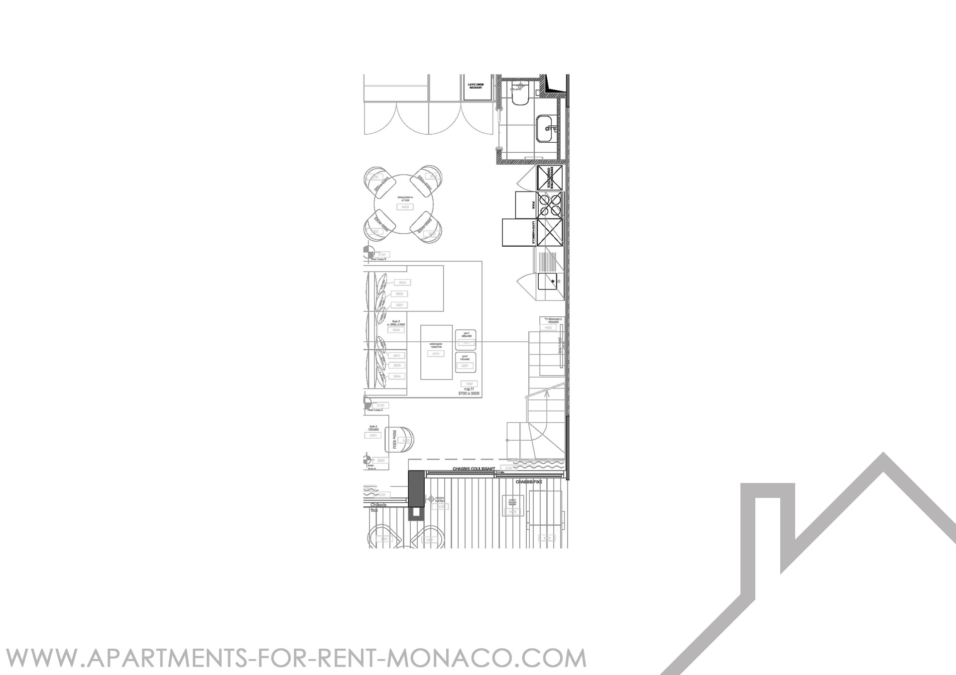 SOLE AGENT - Beautiful 1 bedroom - Apartments for rent in Monaco