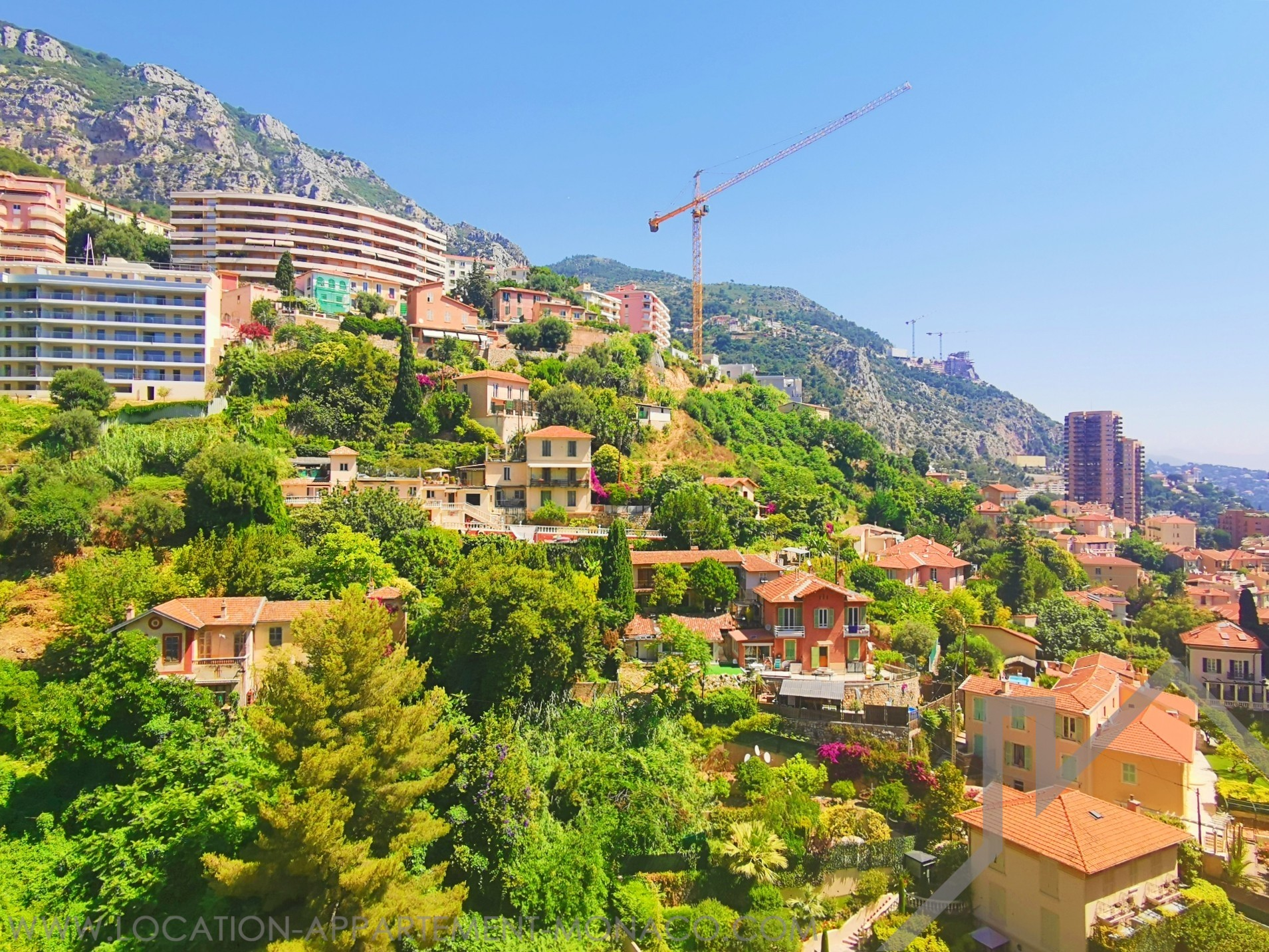 ANNONCIADE: 1-BEDROOM FLAT IN HIGH FLOOR - Apartments for rent in Monaco