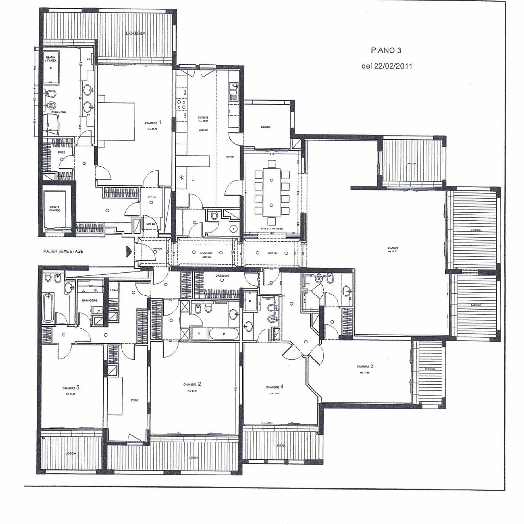 5 bedroom apartment - Le Cimabue
