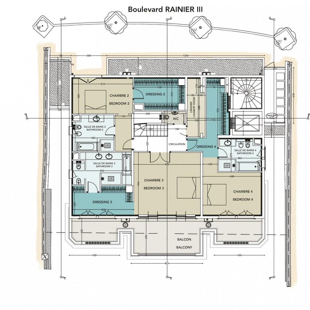 100 monte carlo spa suite floor plan planet for 1500 ocean drive floor plans